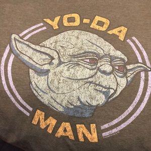 Yo-da man green T-shirt (XXL)
